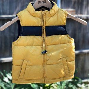 Boys Gymboree Puffer Vest